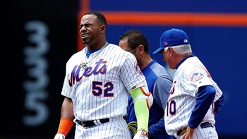 Mets lose Cespedes to hamstring injury