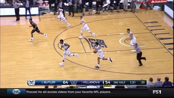 Highlights: Kamar Baldwin (15 points)  vs. Villanova Wildcats, 2/22/2017