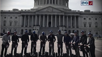 Doan 'leads' Coyotes' Segway tour of D.C.