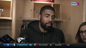Kyrie Irving is keeping the same mindset, no matter the situation