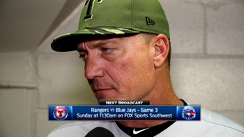 Jeff Banister on 3-1 loss against Toronto