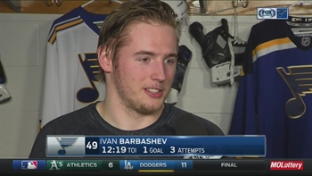 Ivan Barbashev breaks down his heads-up goal
