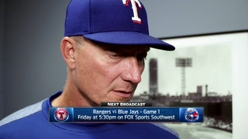 Jeff Banister on Nick Martinez's start, loss to Boston
