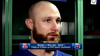 Jonathan Lucroy on Martinez in 6-2 loss to Boston