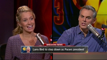Paul George indirectly related to Larry Bird stepping down as Pacers President? | THE HERD