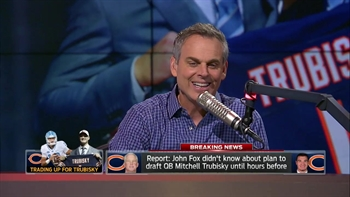 John Fox reportedly didn't know Bears were taking Trubisky until draft day | THE HERD