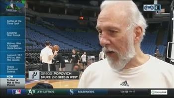 Spurs' Popovich seeks 'balance' in the great NBA rest debate