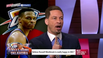 Russell Westbrook seems happy with the Thunder - True or false?   SPEAK FOR YOURSELF
