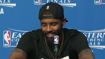Kyrie Irving describes his relationship with LeBron James after ECF win