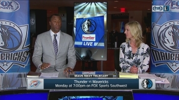 Mavs Live: OKC comes to Big D