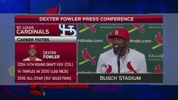 Why Dexter Fowler chose No. 25 with the Cardinals