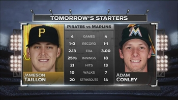 Marlins return home to face Pirates in three-game series