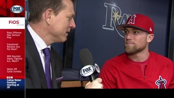 Angels Live: Nolan Fontana on his call up to the big club