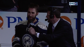 Quincey thanks Jackets faithful after first goal with team