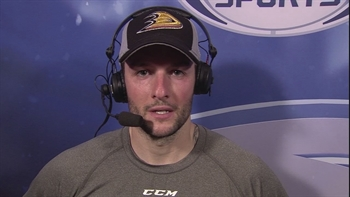 Jonathan Bernier fills in admirably for John Gibson