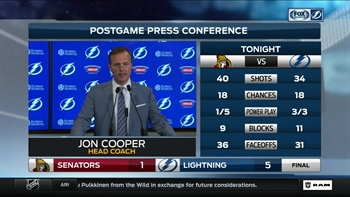 Jon Cooper: 'We want to put the best team on the ice to get us in the playoffs'