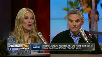 Seahawks may lose 2nd round pick for not disclosing Sherman injury | THE HERD