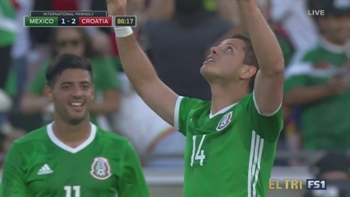 Chicharito stands alone as Mexico's all-time leading goalscorer