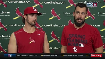 Home run heroes Grichuk and Carpenter on Cards' win