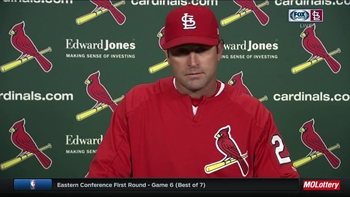Matheny on Cardinals' 'great win' over Blue Jays