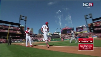 WATCH: Grichuk and Carpenter go deep to lead Cards comeback win in 11
