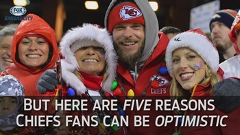 Positive signs for Chiefs fans heading into Steelers playoff game