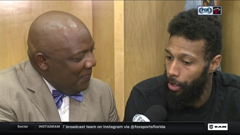 James Johnson on his powerhouse dunk: I know what my abilities are
