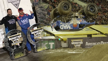 Watch the first ever front flip in Monster Jam history