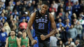 Over five years and 100-plus games, Amile Jefferson has been steady presence for Duke