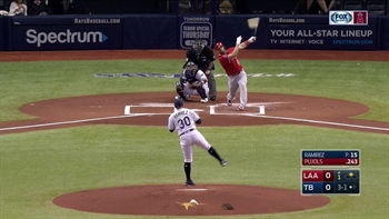 HIGHLIGHTS: Albert Pujols blasts career home run No. 597