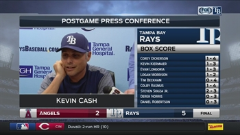 Kevin Cash remains impressed with Erasmo Ramirez's performance