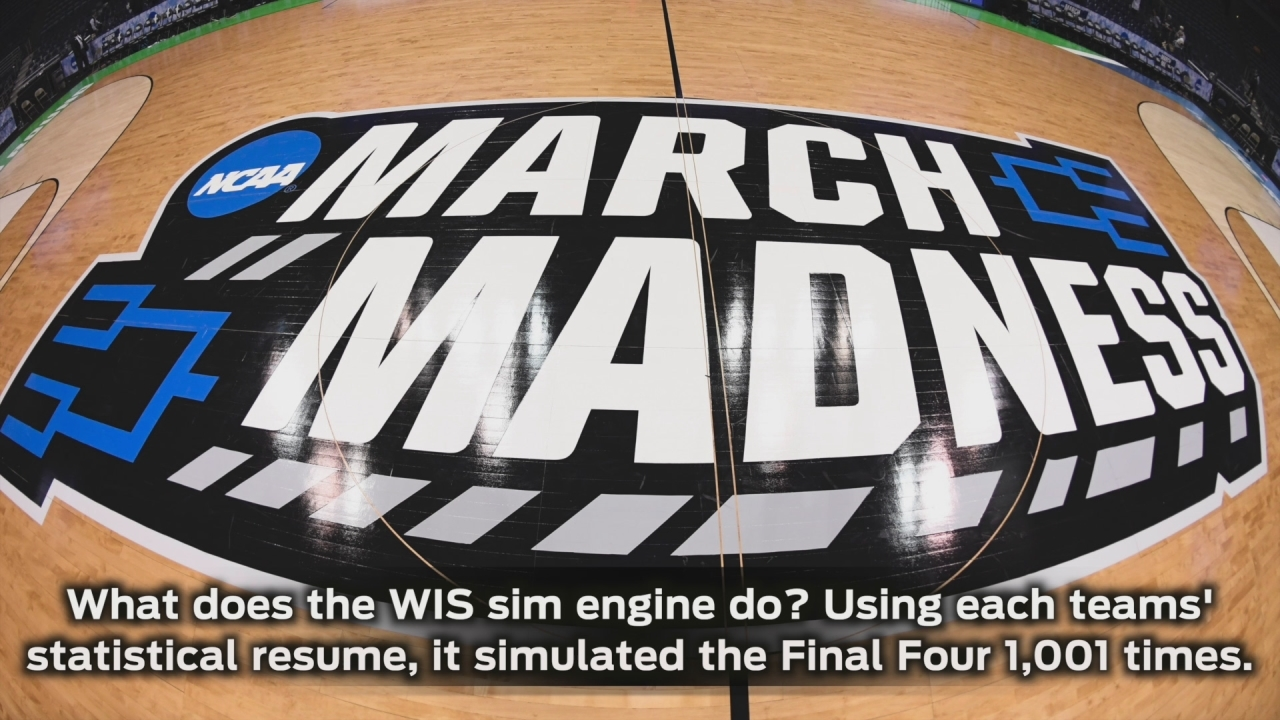 2017 Final Four Simulation Predictions: WhatIfSports