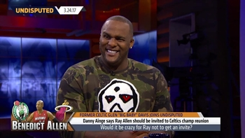 Glen Davis takes Ray Allen's side -He should be at Celtics championship reunion | UNDISPUTED