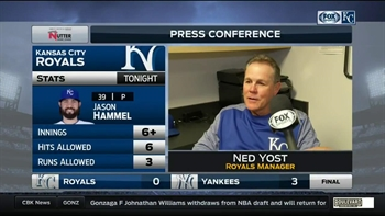 Yost on Hammel: 'He just looked much, much better'