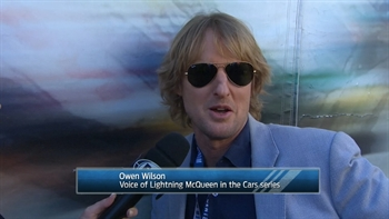 Owen Wilson is Ready to Give the Command I NASCAR RACEDAY 2017