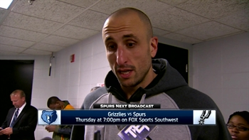 Manu Ginobili talks defense in win over  Minnesota