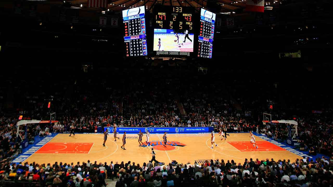 I heart new york bill and gus reminisce about msg Madison square garden basketball
