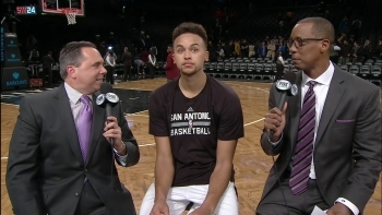 Kyle Anderson helps Spurs beat Nets with 14 pts