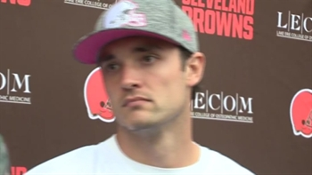 Brock Osweiler responds to question about being good enough to start in NFL