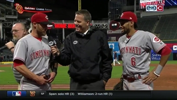 Cozart describes Hamilton's game-changing speed
