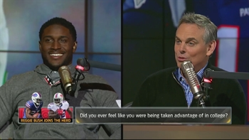 Reggie Bush takes you behind the scenes in Buffalo | THE HERD (FULL INTERVIEW)