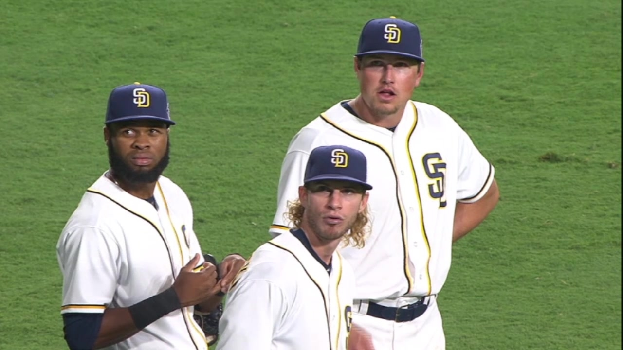 Excitement brews around Padres' new-look outfield