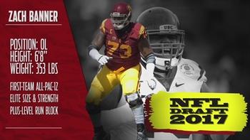 NFL Draft profile: USC OL Zach Banner