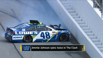 Analyzing Jimmie Johnson's Clash Troubles | NASCAR RACE HUB