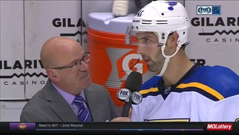 Bortuzzo on Blues passing Nashville in standings: 'That's huge'