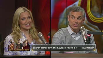 Lebron rants explicitly about not having a bench - Kristine and Colin react | THE HERD