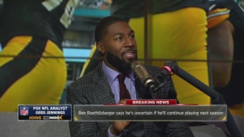 Greg Jennings reacts to Steelers turmoil | THE HERD (FULL INTERVIEW)