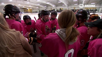 Women's hockey team gets foothold at ASU