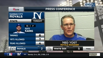 Yost finds some silver linings for Royals after seventh straight loss