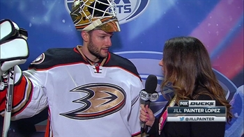 Bernier backstops Ducks with his first shutout of the season